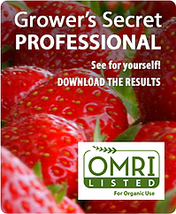 Grower's Secret Professional - Download the Results!